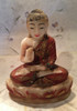 Alabaster Burmese Buddah Mandalay Style-SOLD