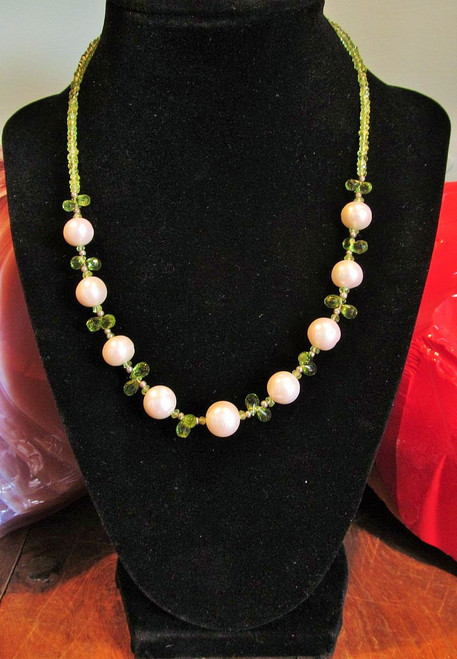 Pearl - Peridot -SOLD