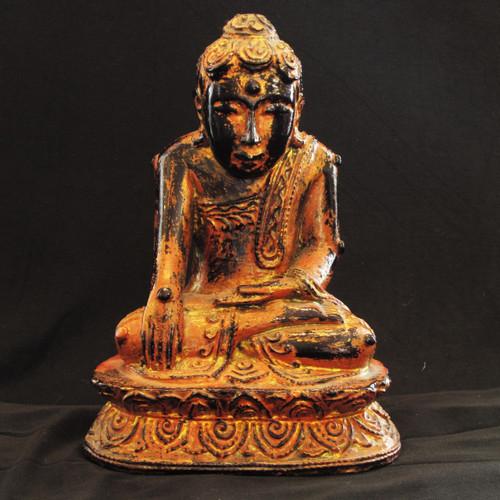 Burmese Lacquerware Buddha 19th century