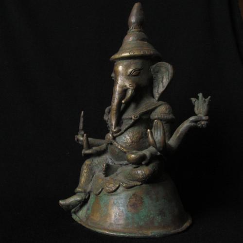 Burmese Bronze Six Arm Ganesh