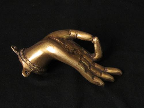 Bronze Buddha Hand, Patan Nepal