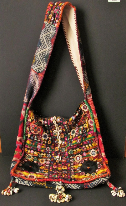 Vintage Embroidery Banjara Strap Tote Bag -SOLD