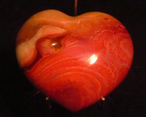 Polychrome Jasper Heart shape  #6 -SOLD