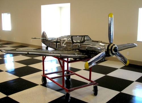 Chrome Airplane