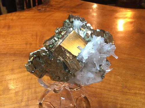 Peruvian Pyrite and Quartz