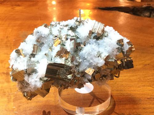 SOLD-Pyrite with Quartz