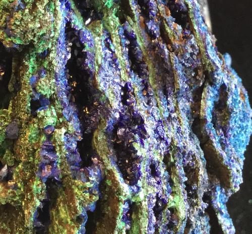Azurite with Malachite 1200 grams-SOLD