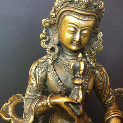 Sold-A  Bronze figure of Vajrasattva