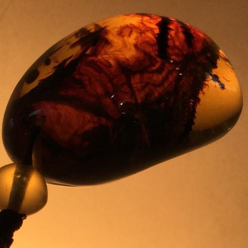 Burmese Amber Pendant 50 carats