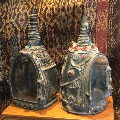 SOLD - Burmese Buddha Shrines