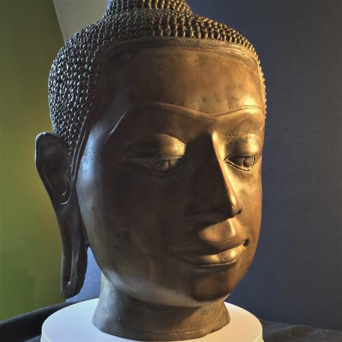 Land Thai Style Buddha head replica.