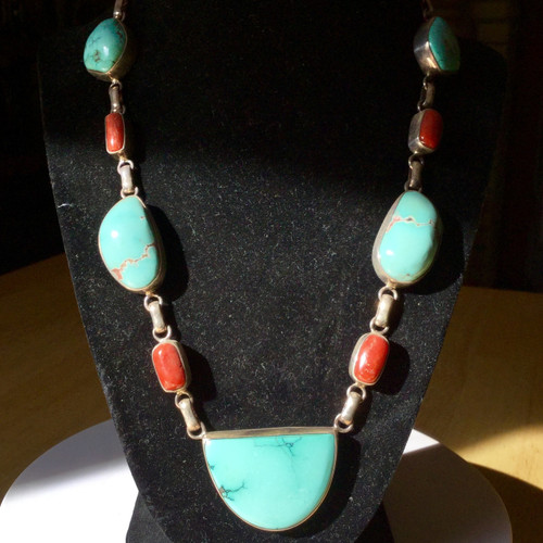 Tibetan Turquoise, Tibetan Coral , Designed by Mabuhay