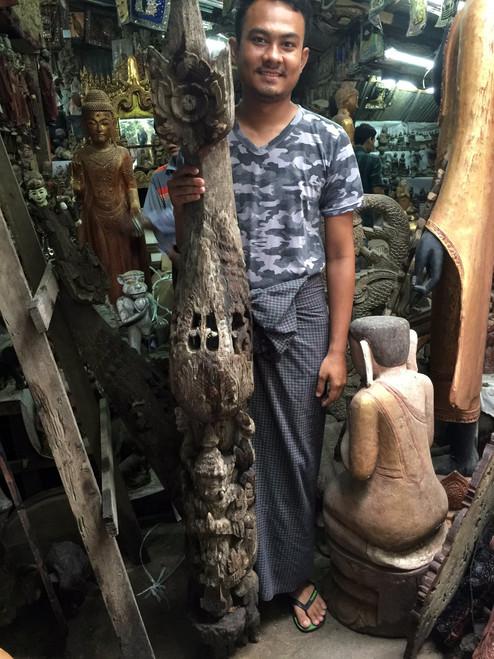 Temple Carving Teak,