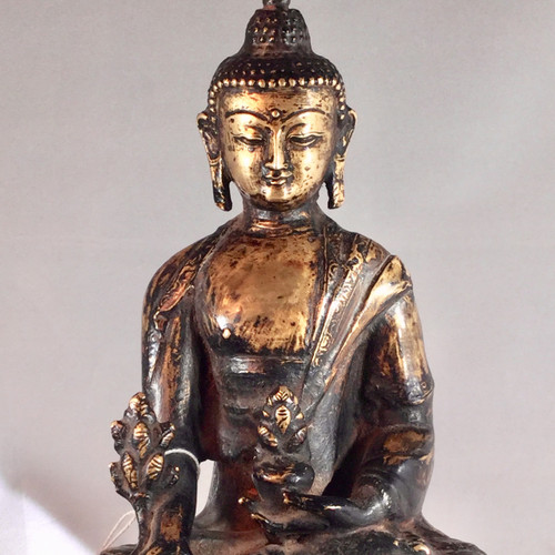18th Century Bronze Buddha Nepal(Sold)