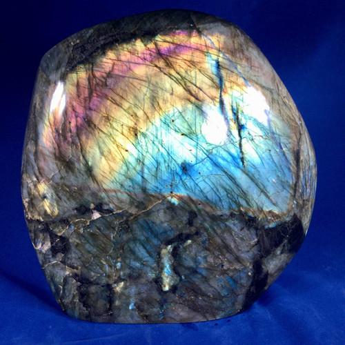 SOLD-Labradorite , Madagascar 8.2 kilos, Large Beautiful Specimen