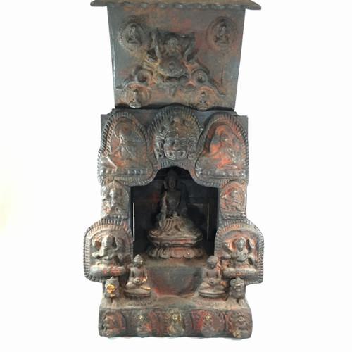 Travel Temple, Nepal, Circa late 1900's