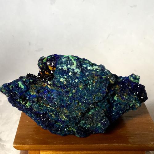 Azurite with Malachite from Tongshan Mine, Guichi, Anhui, China