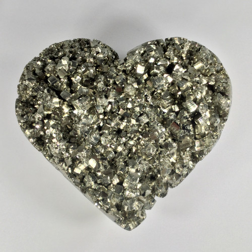 Perfectly Shape Peruvian Pyrite Heart.