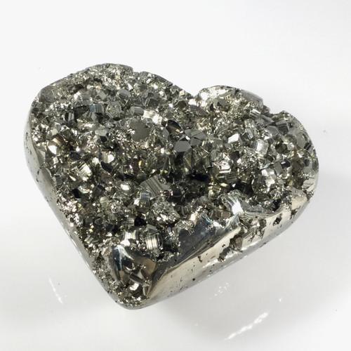 Pyrite Heart, Peru, 508 grams
