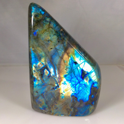 SOLD -Madagascar Labradorite , full polished specimen, 1.5 kg