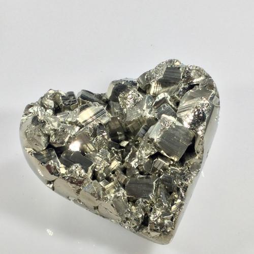 SOLD-Pyrite Heart, Peru, 446 grams