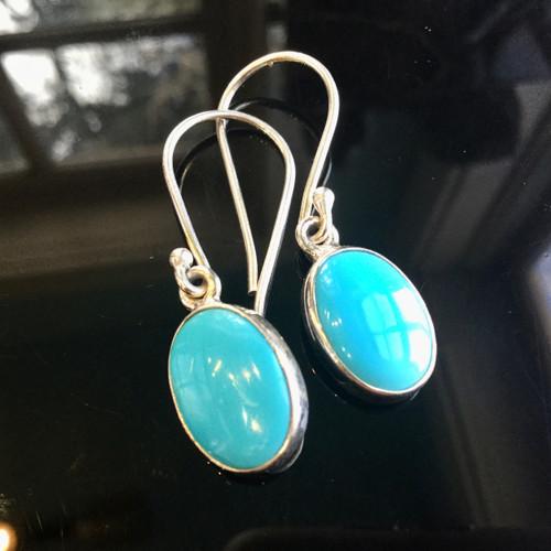 Sleeping Beauty Turquoise Earrings, 21.50 ct