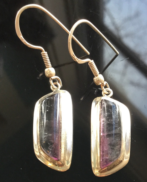 Tourmaline Earrings, 15ct ,15ct(total30ct)/Silver