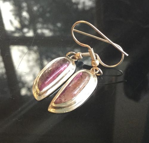 Tourmaline Earrings, 24ct