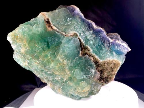 Large Green/ Purple Fluorite Very Large