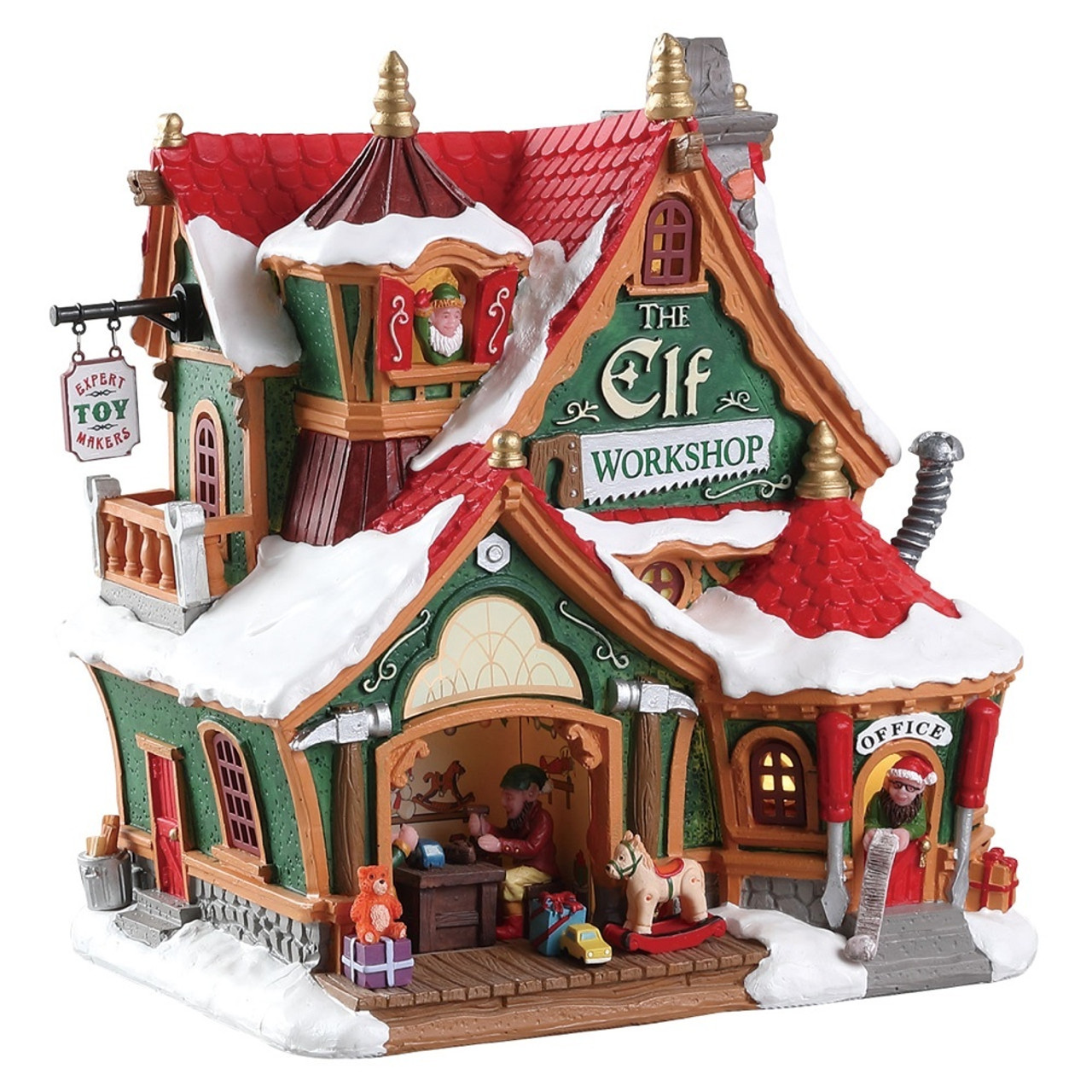 Lemax Christmas.Lemax The Elf Workshop