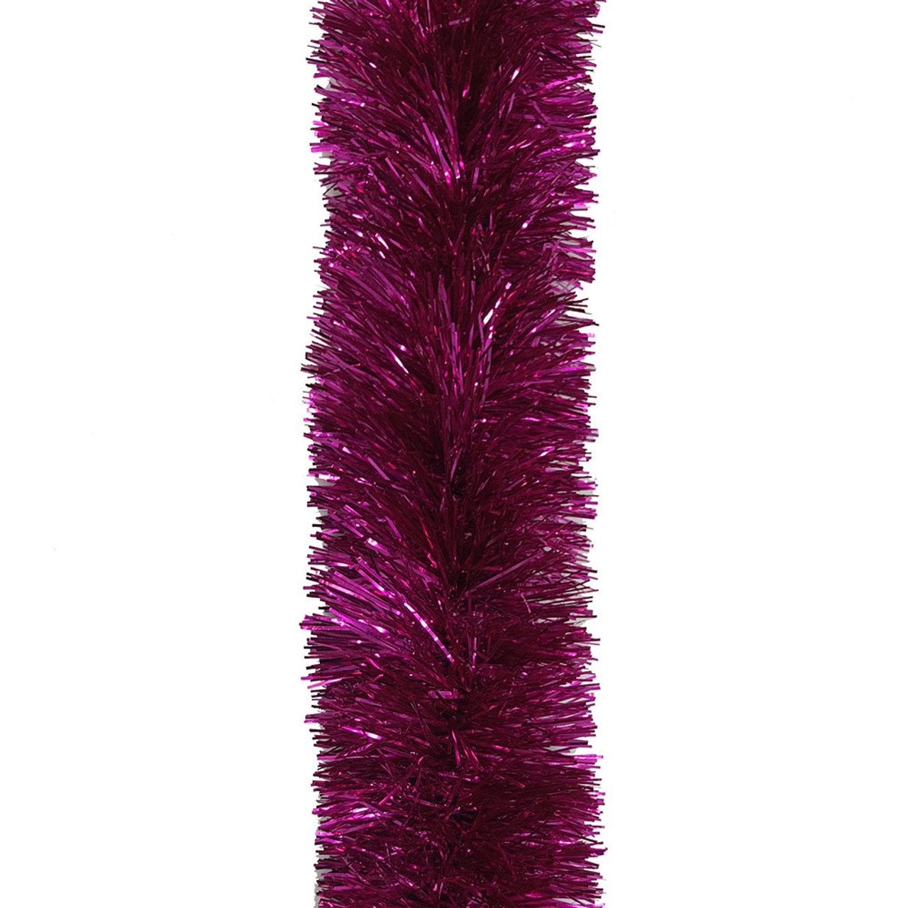 quality design 62541 d0181 Hot Pink Plush Tinsel - 5m