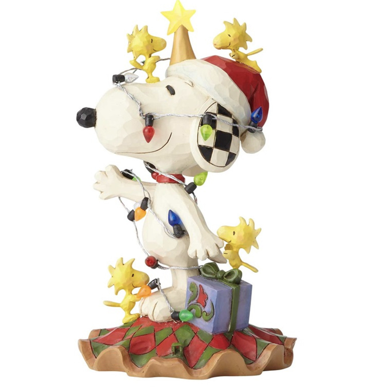 Snoopy And Woodstock Christmas Images.Jim Shore Peanuts Collection Snoopy And Woodstock 16 5cm