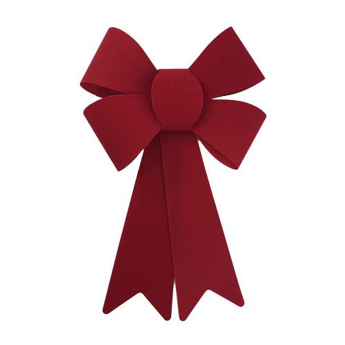 Christmas Ribbon.Red Christmas Bow 25cm