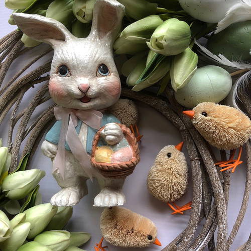 Decorate your home for Easter with Bethany Lowe Easter Decor