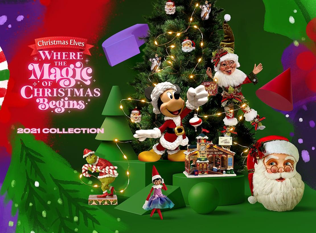 Christmas Elves 2021 Christmas Collection