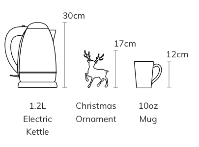 Ornaments Size Chart