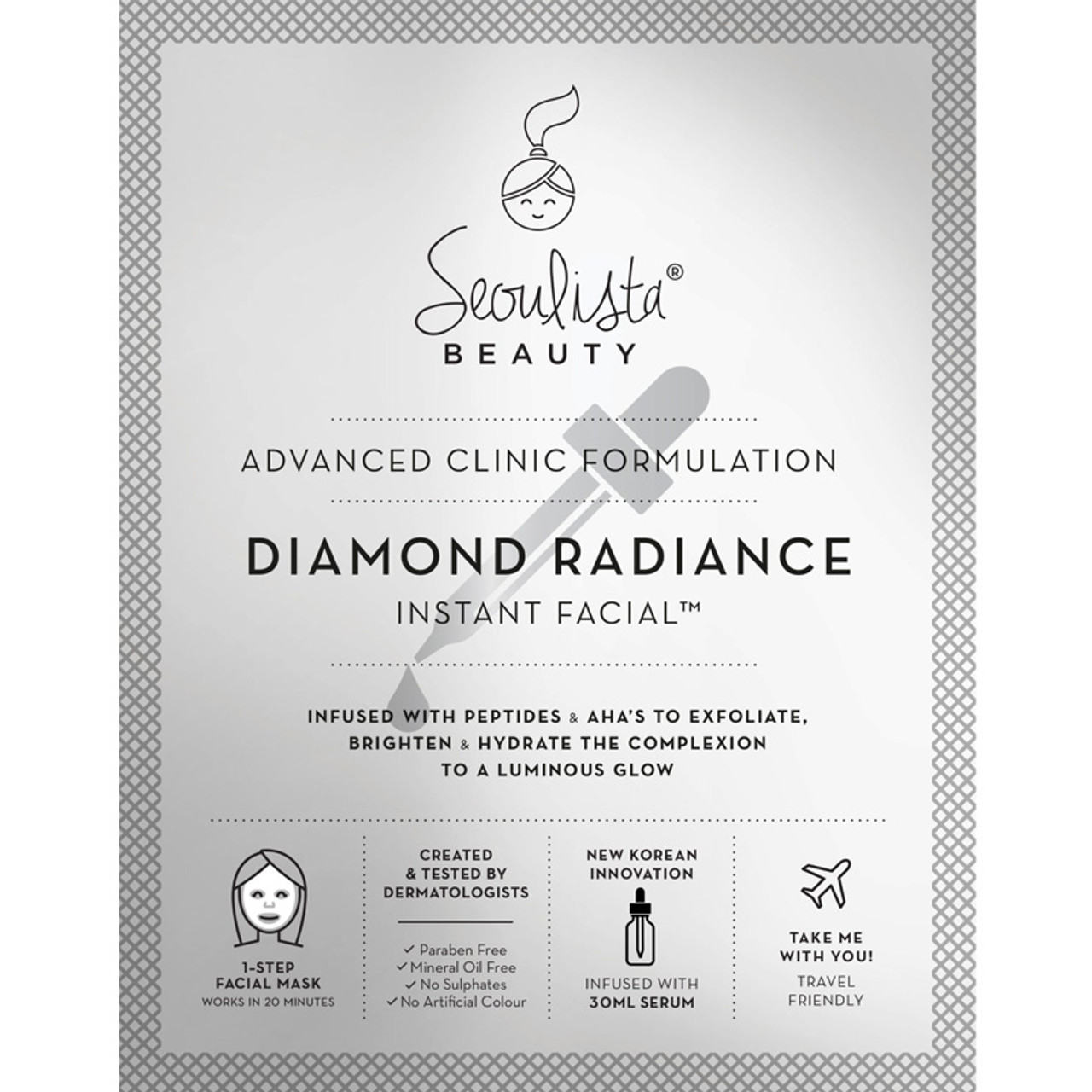 Seoulista Diamond Radiance Instant Facial | Beautyfeatures.ie