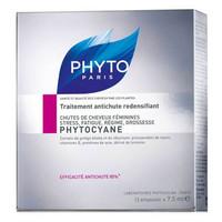 Phyto Phytocyane Hair Loss Treatment Women 12 x 7.5ml