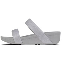 FitFlop™ Lottie Glitz™ Slide Silver side