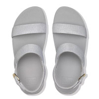 FitFlop™ Lottie Glitz™ Sandal Silver top