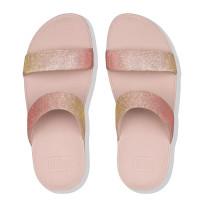 Lottie Glitzy Sandal Rose Gold top