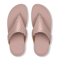 FitFlop™ Lottie Chevron Toe-Thongs Pink top