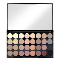 Revolution Ultra 32 Shade Eyeshadow Palette - Flawless Matte open