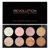 Revolution Ultra Blush Palette Golden Sugar colours