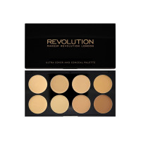 Revolution Ultra Cover and Conceal Palette - Light Medium