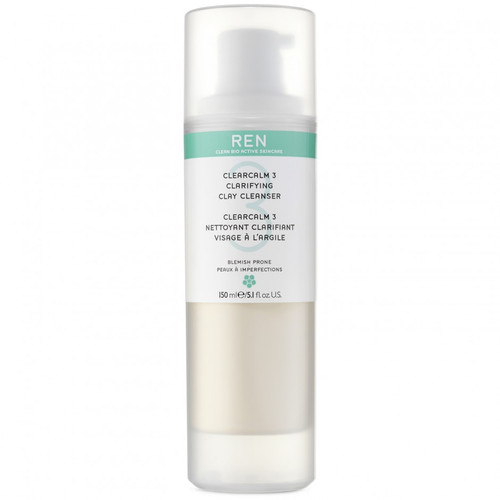 REN - Clearcalm 3 Clarifying Clay Cleanser 150ml