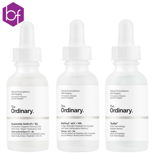 The Ordinary Anti-Ageing Trio