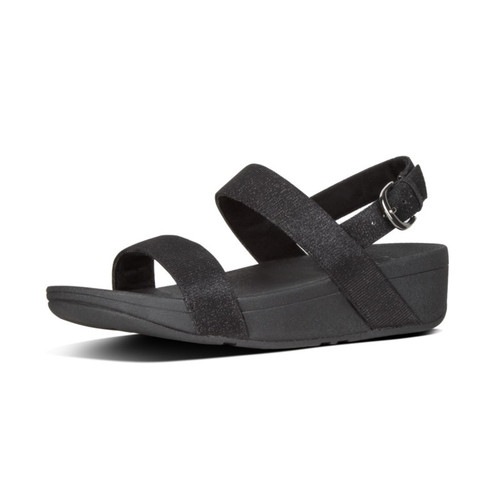 FitFlop™ Lottie Glitz™ Sandal Black
