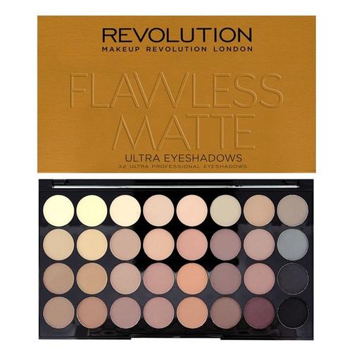 Revolution Ultra 32 Shade Eyeshadow Palette - Flawless Matte