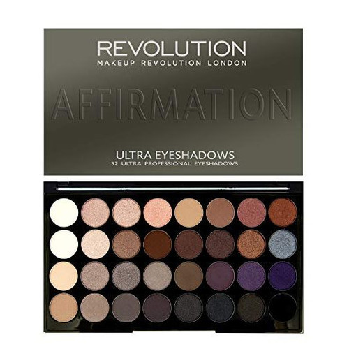 Revolution Ultra 32 Shade Eyeshadow Palette - Affirmation
